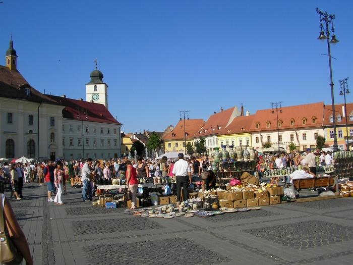 De obicei, turiştii mustesc prin vechiul centru